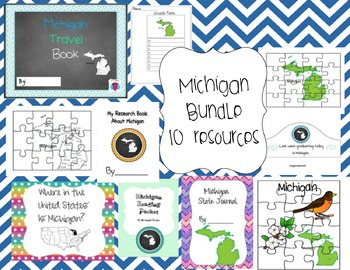 Michigan Bundle 10 Resources