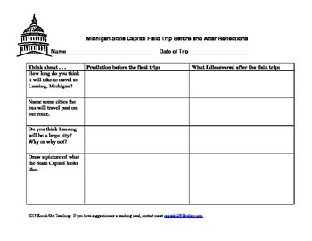 Michigan Capitol Field Trip Reflections