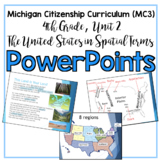 Michigan Citizenship Curriculum (MC3) 4th Grade, Unit 2 PowerPoints