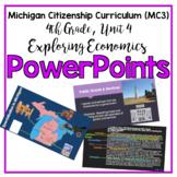 Michigan Citizenship Curriculum (MC3) 4th Grade, Unit 4 PowerPoints
