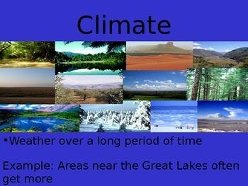 Michigan Climate