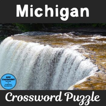 Michigan Crossword Puzzle