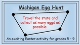 Michigan Easter Math Activity