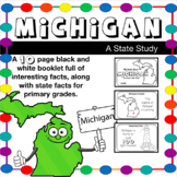 Michigan Fact Book / Booklet: A State Study for Elementary