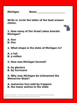 Michigan Hello USA