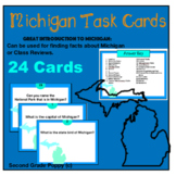 Michigan Fun Fact Task Cards