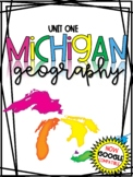 3rd Grade Michigan Geography Social Studies Distance Learn