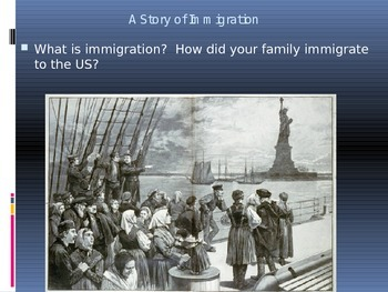 Geography - A Story of Immigration Unit