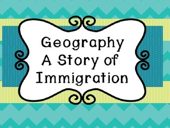 Michigan Geography - A Story of Immigration PowerPoint