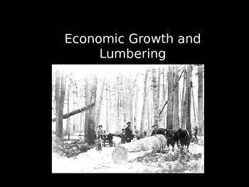 Michigan Growth and Lumbering