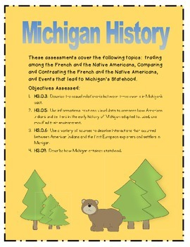 Michigan History Assessments