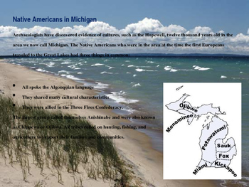 Michigan History PowerPoint - Part II