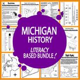 Michigan History Bundle – ELEVEN Michigan State Study Lessons!