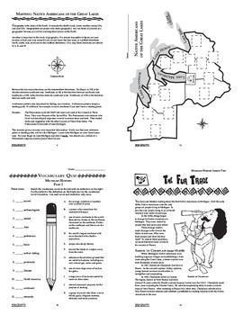 Michigan History Bundle–11 Engaging Literacy-Based Michigan State Study Lessons