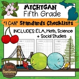 Michigan I Can Standards Checklists Fifth Grade