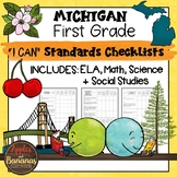 Michigan I Can Standards Checklists First Grade