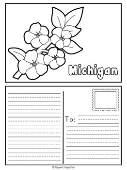 Michigan | State Study | 56 Pages for Differentiated Learning + Bonus Pages