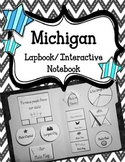 Michigan Lapbook/Interactive Notebook.  US State History a