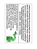 Michigan MC3 Fourth Grade Social Studies Standards with I Can Statements