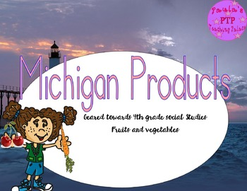 Michigan Products Packet
