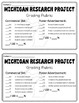 Michigan Project: Make a Commercial & Poster {Michigan Research Project}