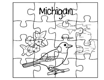Michigan Puzzle Set