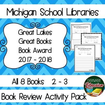 Michigan School Library 17 - 18, 2 -3 Great Lakes Great Bo
