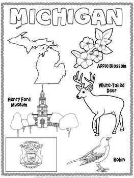 Michigan Word Search