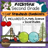 Michigan I Can Standards Checklists Second Grade