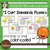Michigan Social Studies Standards - Fifth Grade Posters