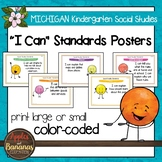 Michigan Social Studies Standards - Kindergarten Posters