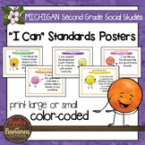 Michigan Social Studies Standards - Second Grade Posters