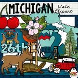 Michigan State Clip Art