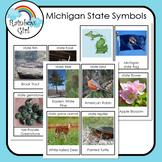 Michigan State Symbols Cards