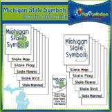 Michigan State Symbols Interactive Foldable Booklets