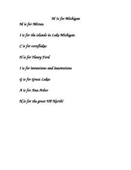 Michigan Week Poem