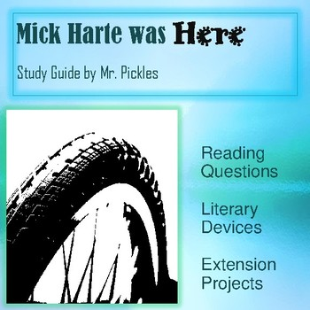Mick Harte was Here lesson plans, study guide and reading questions