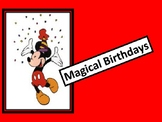 Mickey Birthday Wall