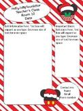 Mickey & Minnie Santa themed newsletter template - editable