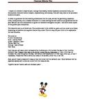 Mickey Classroom Behavior Plan