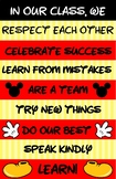 Mickey Classroom Poster