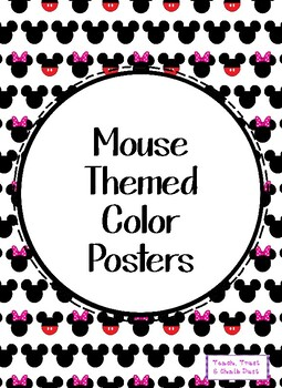 Mickey Color Posters