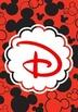 Mickey Ears Binder Covers A-J