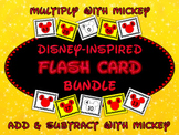 Mickey Fact Family Flash Card Bundle