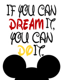 Mickey Inspirational Quote