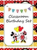 Mickey Inspired Birthday Kit