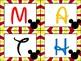 Mickey Inspired Math Rotation Board