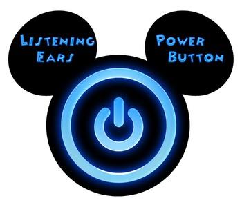 Mickey Listening Ears Power Button
