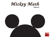 Mickey Math Addition: 2-10 addition problems for kindergar
