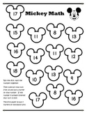 Mickey Math Addition and Subtraction Disney